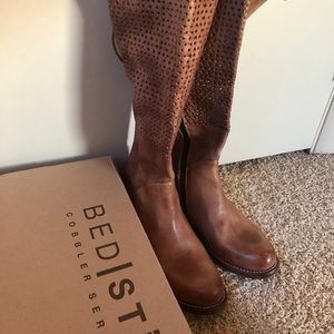 Bed Stu Cambridge Brown Tall Boot size 8.5
